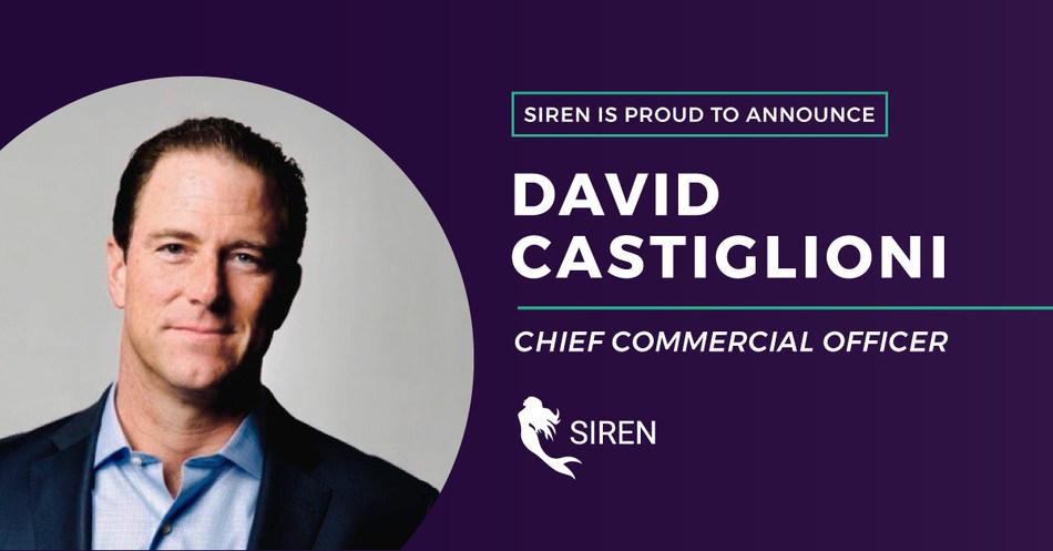 David Castiglioni, Chief Commercial Officer
