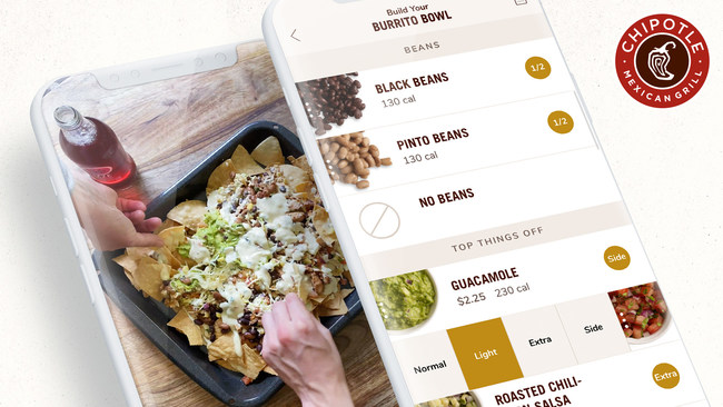 The Complete Customization feature in the Chipotle app allows users to make any ingredient light, standard or extra. Chipotle's new TikTok Hack Menu demonstrates how fans can use Complete Customization to create never-before-seen menu items, including DIY Nachos, The Extra Dip and the Taco Salad Hack.