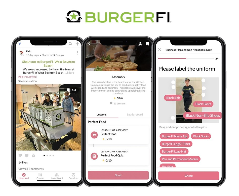 Fast-Growing Concept BurgerFi Partners with Leading Tech Platform YOOBIC to Drive Employee Engagement.