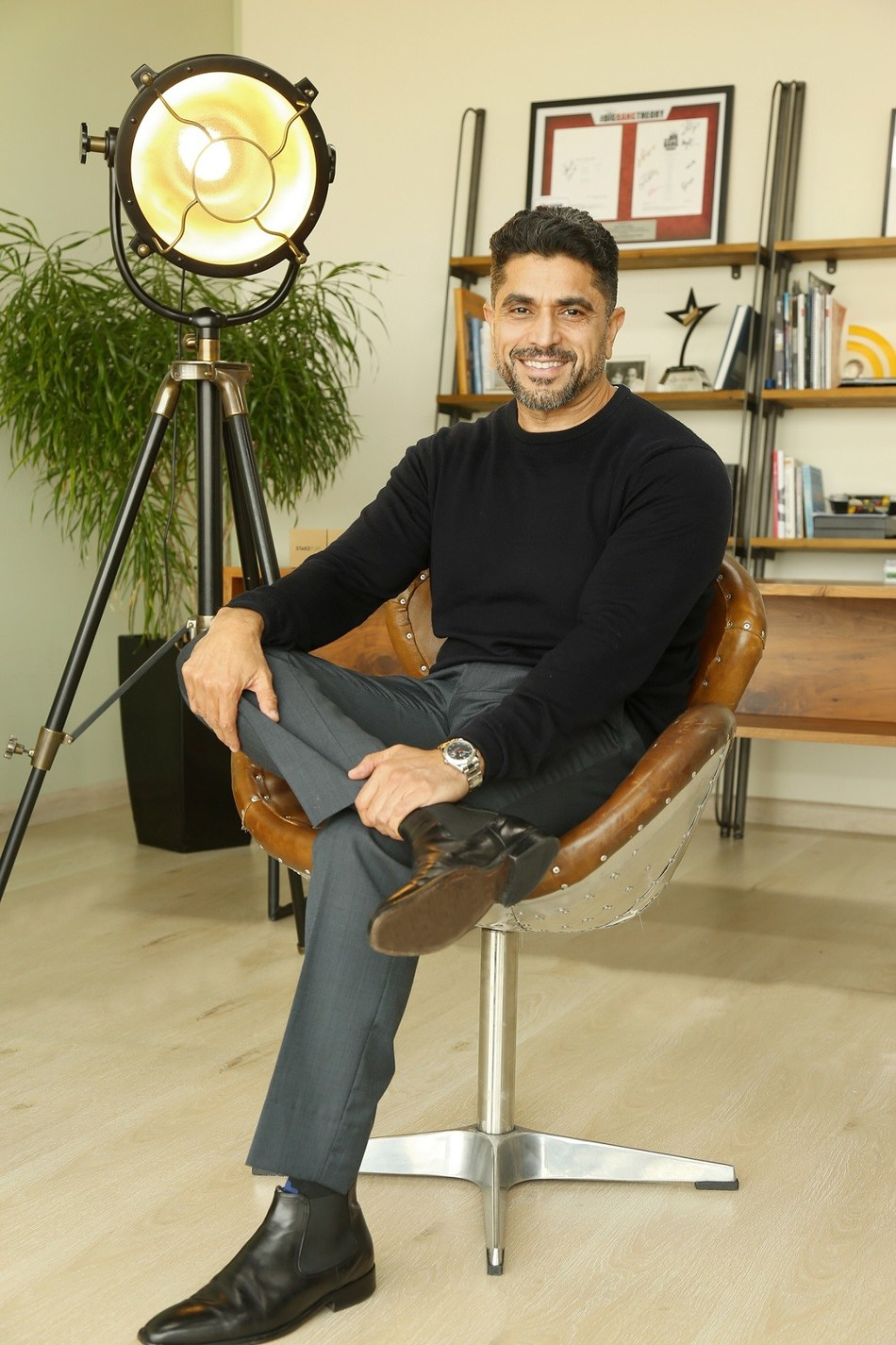 Maaz Sheikh, Co-founder and CEO, STARZPLAY (PRNewsfoto/STARZPLAY)