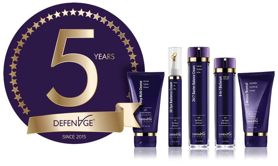 DefenAge® New Skin Celebrates Five Year Anniversary