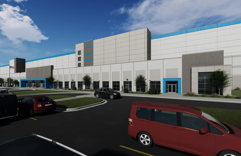 Rendering of latest Amazon site coming to Delaware.