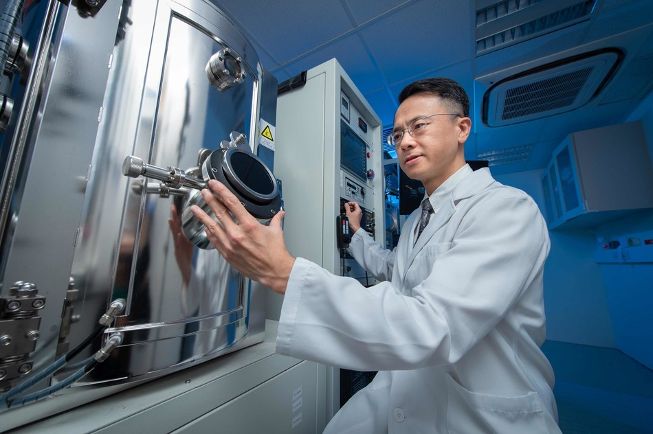 Dr Jeffery Huang Zhifeng, Associate Professor in the Department of Physics at HKBU, has developed a novel approach to manipulating the chirality of drug molecules (PRNewsfoto/HKBU)