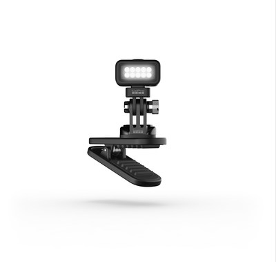 Zeus Mini combines the illumination power of GoPro's Light Mod with the versatility of its Magnetic Swivel Clip to deliver an insanely convenient and capable, compact, hands-free LED lighting solution.