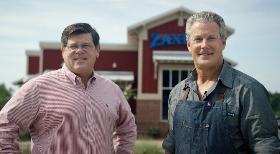 L-R: Tony Townley, Zaxby's chief strategy officer and co-founder and Zach McLeroy, Zaxby's CEO and co-founder