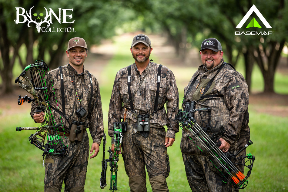 "Michael Waddell's Bone Collector™ Brotherhood - Nick Mundt, Micheal Waddell and Travis ""T-Bone"" Turner."