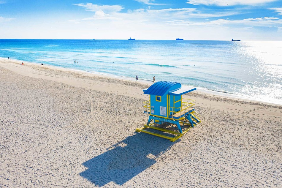 """Miami Beach, like no other place in the world, is delivering the city's experiences to audiences in the comfort and safety of their homes through a new new social sweepstakes, """"From Miami Beach, With Love."""" Travel lovers can follow @ExperienceMiamiBeach on Facebook and Instagram and @EMiamiBeach on Twitter for the chance to win one of five vacation boxes."""