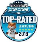CARFAX Consumers Recognize Top-Rated Service Shops