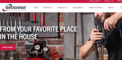 Global HVAC leader Modine has launched a new website with improved accessibility and functionality.