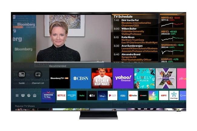 Bloomberg TV+ UHD on Samsung TV Plus