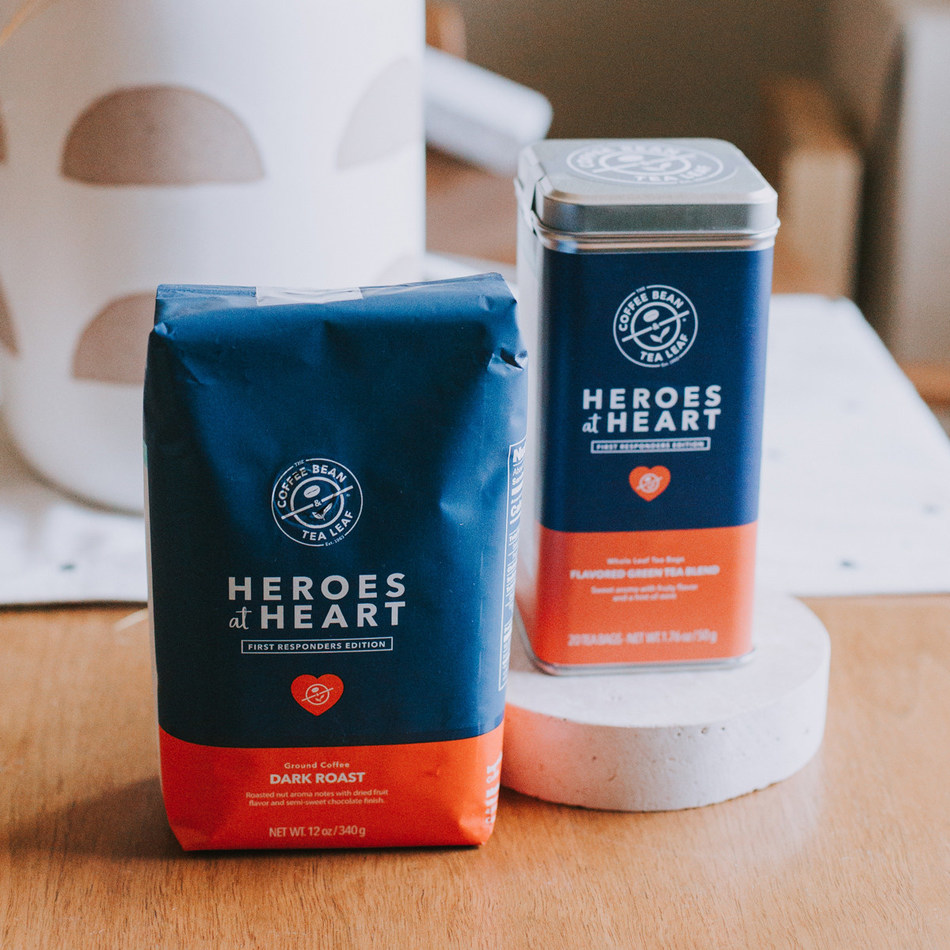 """Heroes at Heart"" Coffee and Tea Blends"