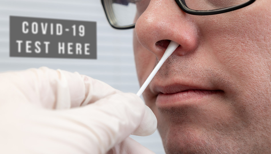 Pathnostics' new COVID-19 PCR test is administered using a simple nasal swab that can detect the genetic information of the virus within 24 to 48 hours.