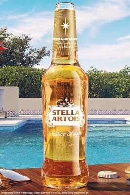 Just in time for summer, Stella Artois is introducing it's first-ever golden lager: Stella Artois® Solstice Lager. Starting May 25th, residents of America's sunniest city, Phoenix, Arizona, can be one of the first to try Stella Artois® Solstice Lager.