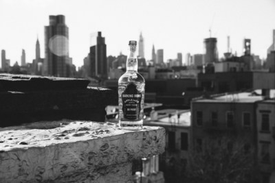 Barking Irons Spirits' new, 80-proof, clear applejack – made from 100% New York apples, and warm-weather ready