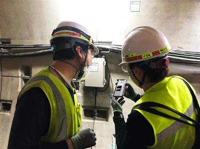 GSIL installed a smart safety management system for a construction site operated by Lotte Engineering & Construction.