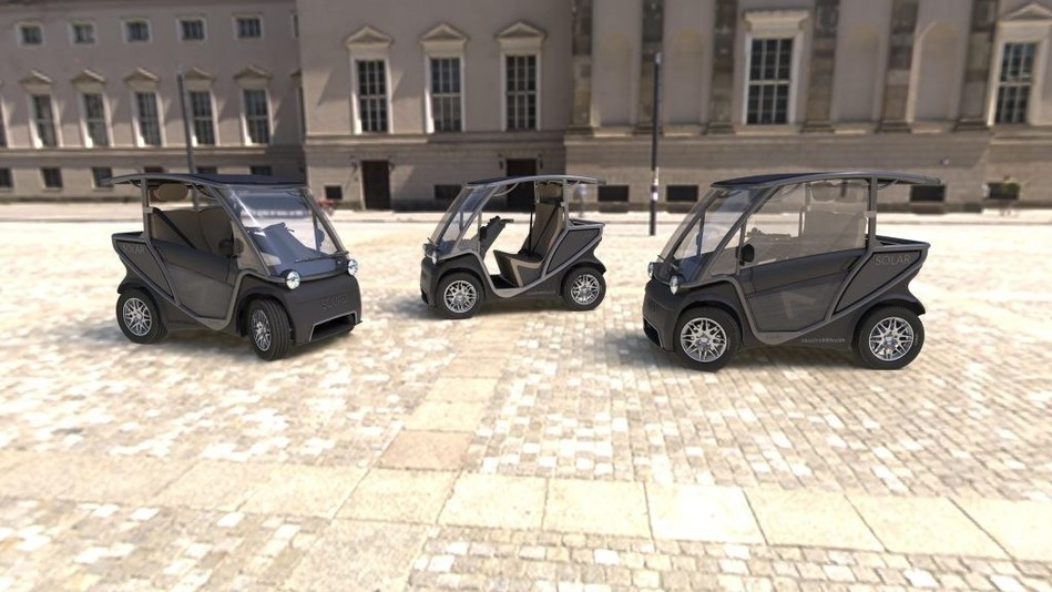 Squad Solar City Car launches design update with Doors and Airco options