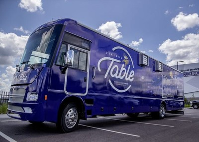 Building upon the success of their 2019 Vikings Table food truck collaboration, Winnebago Industries' Specialty Vehicle Division and the Minnesota based experiential marketing agency STAR have established a strategic partnership to offer mobile experiential marketing opportunities to a broader range of clients.