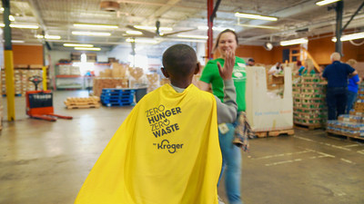 Kroger announces its latest results and achievements for Zero Hunger | Zero Waste, the company's bold social impact plan aimed at creating communities free of hunger and waste.
