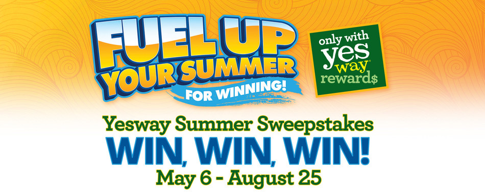Fuel Up Your Summer for Winning at Yesway and you could win FREE Gas for a Year, a Trip to Iceland, and Thousands of Instant Prizes! Qualifying purchases will earn entries to win via Yesway Rewards membership through August 25.
