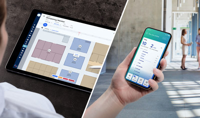 Pointr WorkSafe solves contact tracing and occupancy management for businesses (PRNewsfoto/Pointr)