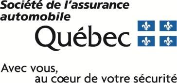 Logo : SAAQ (Groupe CNW/Société de l'assurance automobile du Québec)