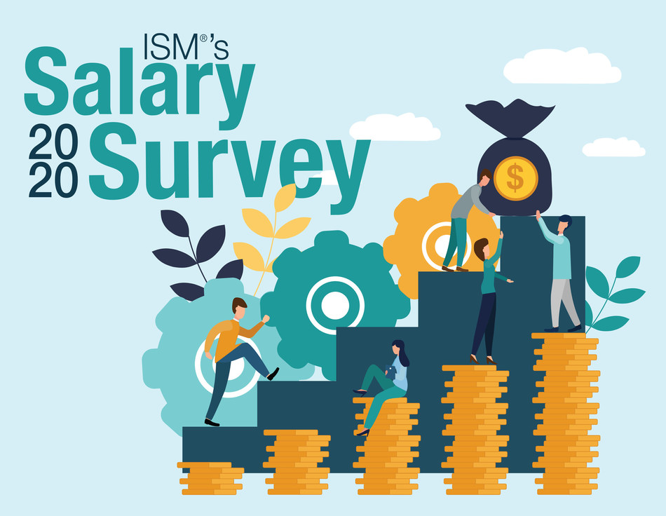ISM® 2020 Salary Survey reveals wage and benefit growth.
