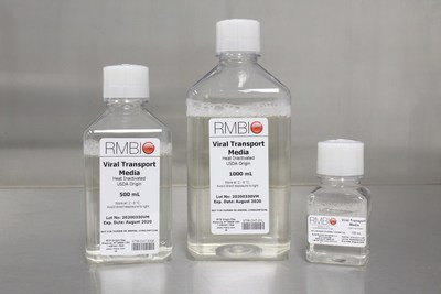 Bulk Viral Transport Medium for Covid-19 Testing Kits - by Rocky Mountain Biologicals, LLC