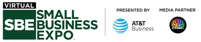 AT&T is the Presenting Sponsor of the Virtual Small Business Expo and SmallBusinessUniversity.online.