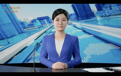 Sogou 3D AI News Anchor
