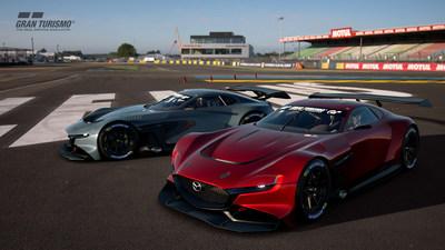Mazda estrena el auto para carreras virtuales RX-Vision GT3 Concept, para juegos en línea