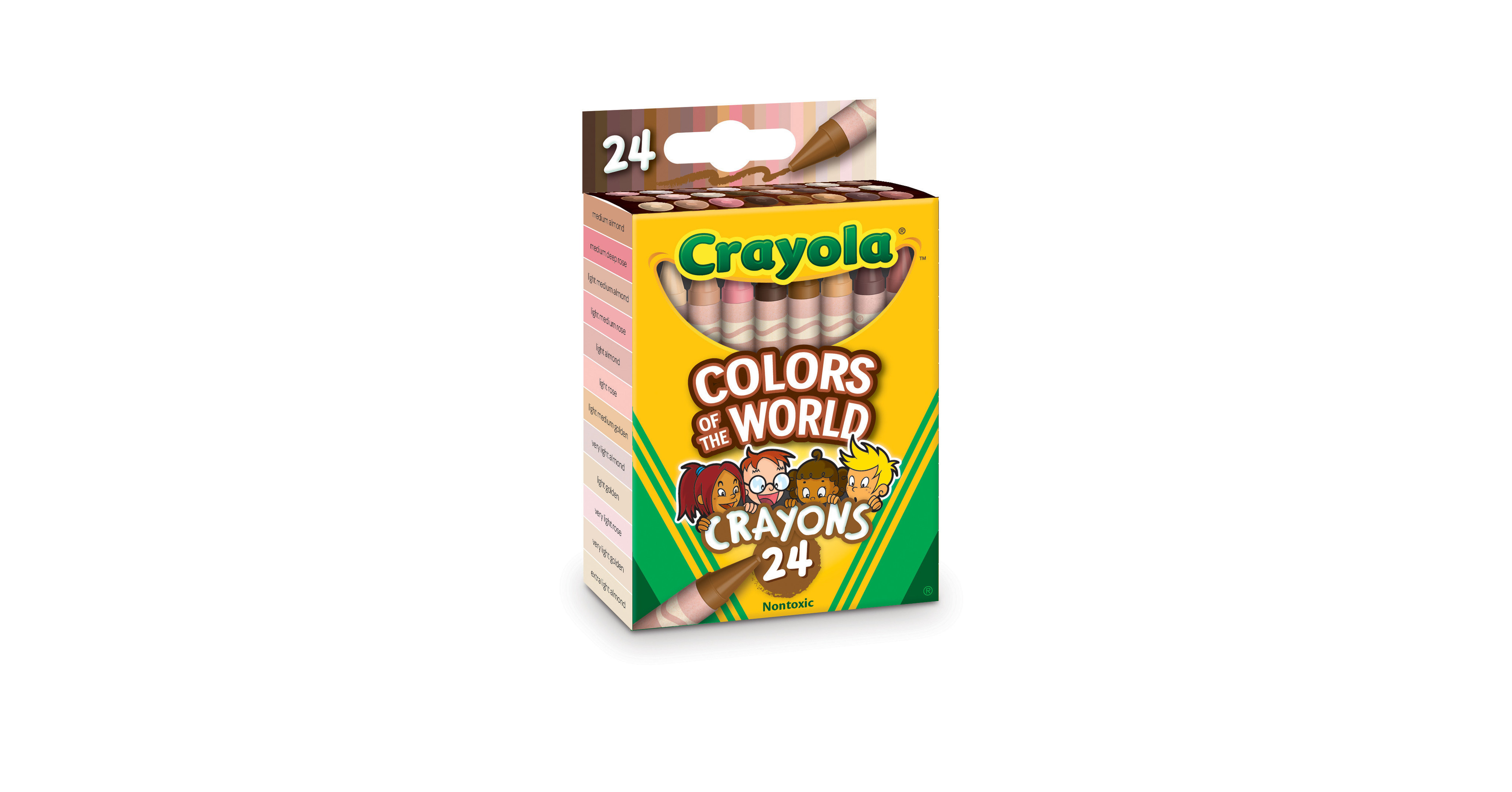 "Crayola Announces New ""Colors of the World"" Crayons To Help Advance Inclusion Within Creativity"