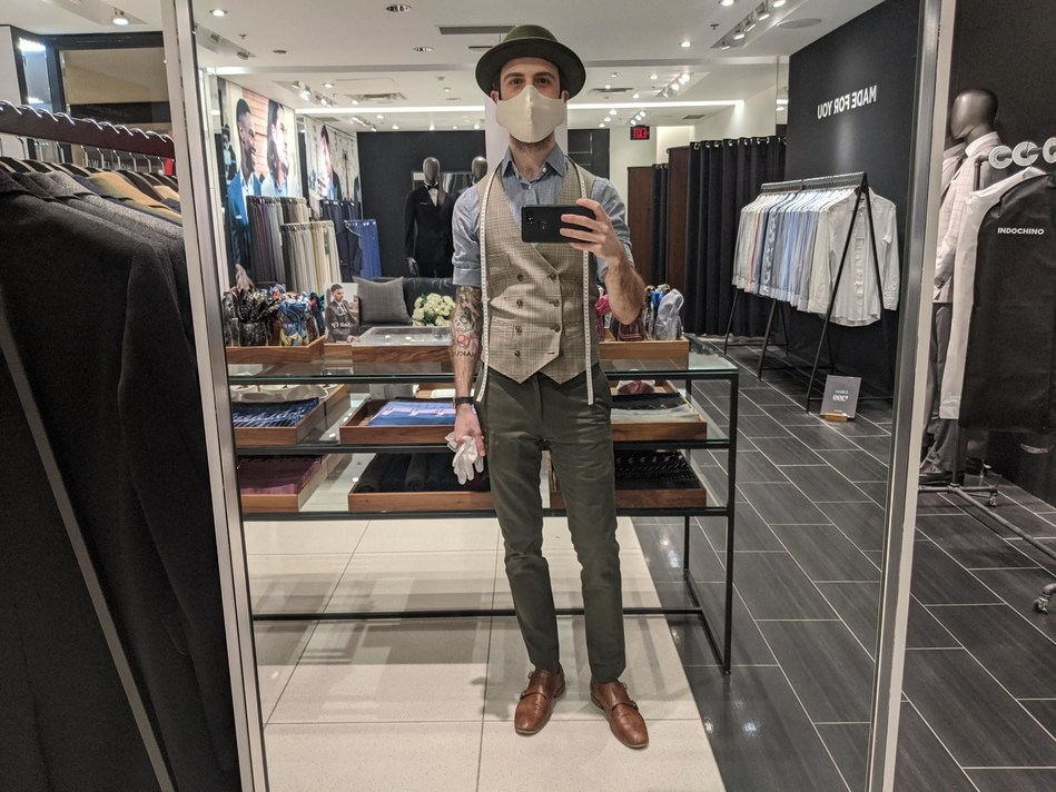 INDOCHINO is starting to welcome customers back into its showrooms and reopening cautiously, safely, and in accordance with local guidelines. (CNW Group/Indochino Apparel Inc.)