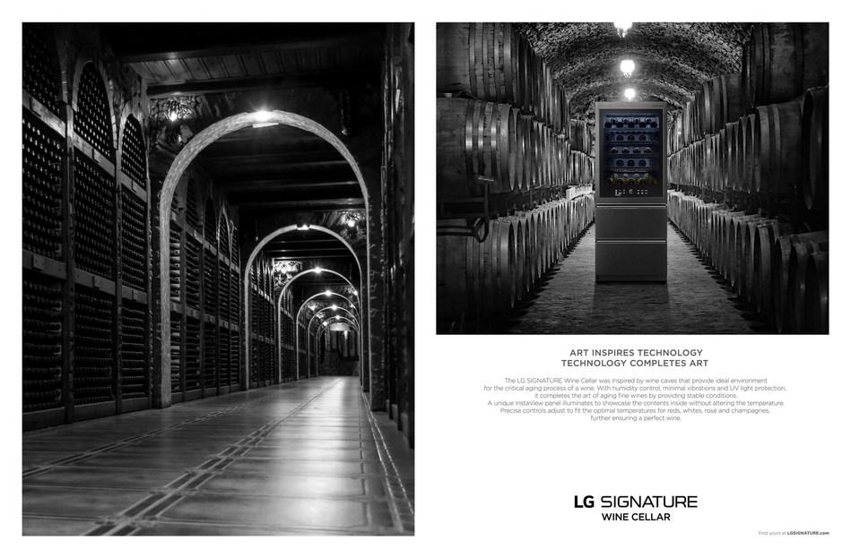LG SIGNATURE Wine Cellar
