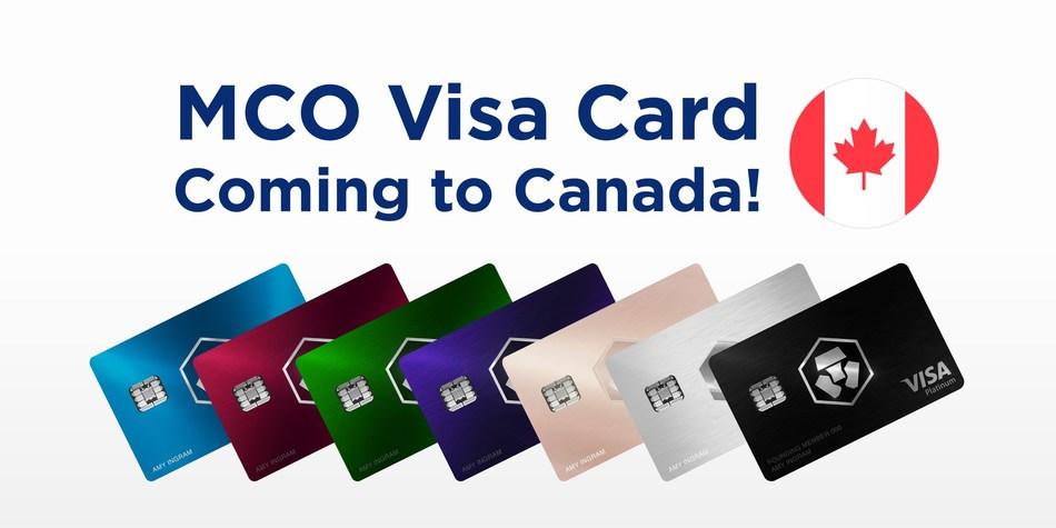 Crypto.com is preparing to roll out the MCO Visa Card program in Canada (PRNewsfoto/Crypto.com)