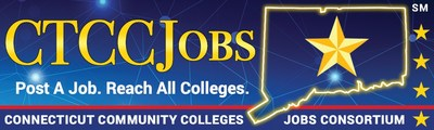 The Connecticut Community Colleges Jobs Consortium website removes barriers, simplifying the hiring process and allows employers to easily recruit the Connecticut's home-grown entry-level talent.