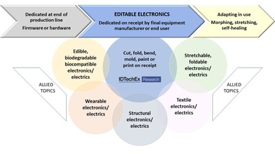 """IDTechEx: """"Complete Electronics as Smart Material, User-Customized 2020-2040"""" 