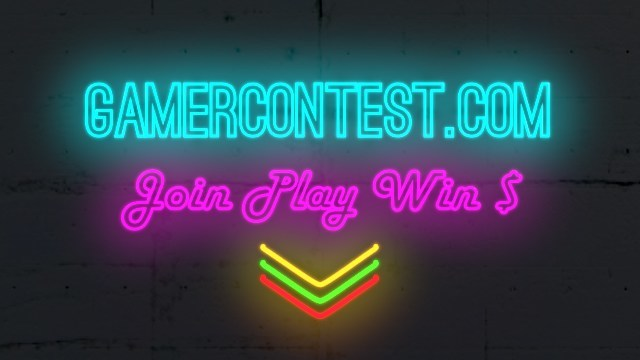 Join free, win big playing at gamercontest.com