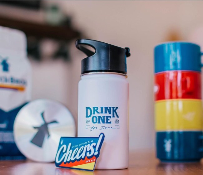 Dutch Bros Coffee and its customers joined together on its annual Drink One for Dane day to raise more than $1.39 million to #endALS with the Muscular Dystrophy Association. Visit dutchbros.com/endals to get your limited edition mug and exclusive sticker combo.