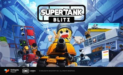 "Casual mobile sandbox game ""SUPERTANK BLITZ"" now available for global pre-registration"