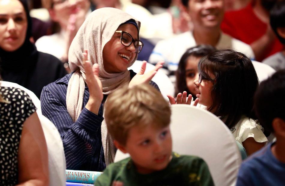 Emirates Airline Festival of Literature (PRNewsfoto/Emirates Literature Foundation)