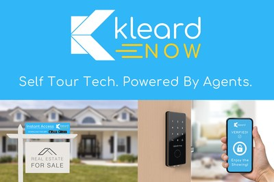 Kleard Now   Self Tour Tech. Powered By Agents.