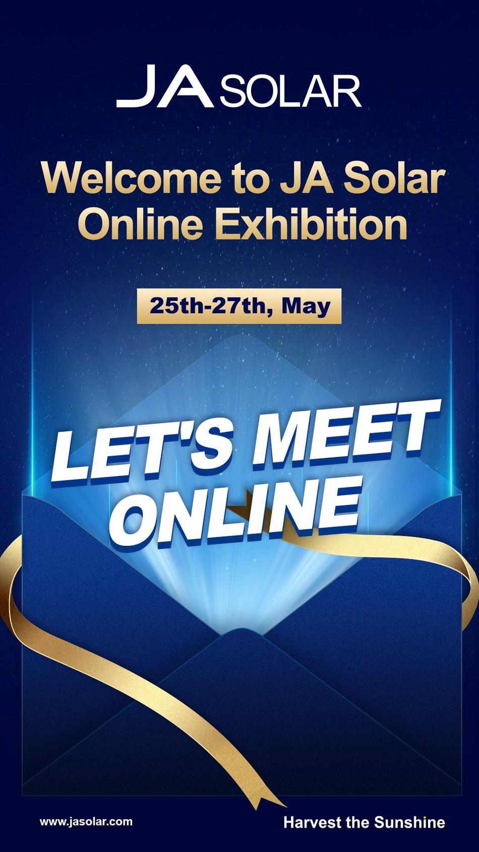Exposição virtual da JA Solar
