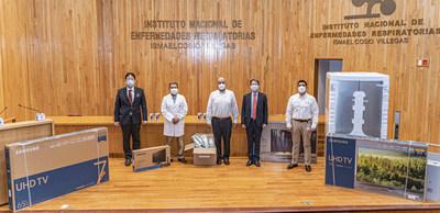 Samsung Electronics realiza donación para combatir COVID-19 en México
