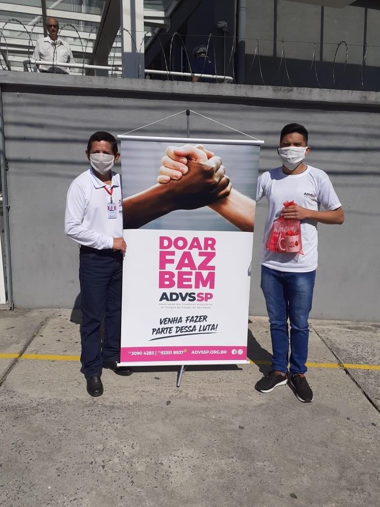 Em meio à pandemia, Associação recruta dezenas de novos doadores de sangue durante campanha