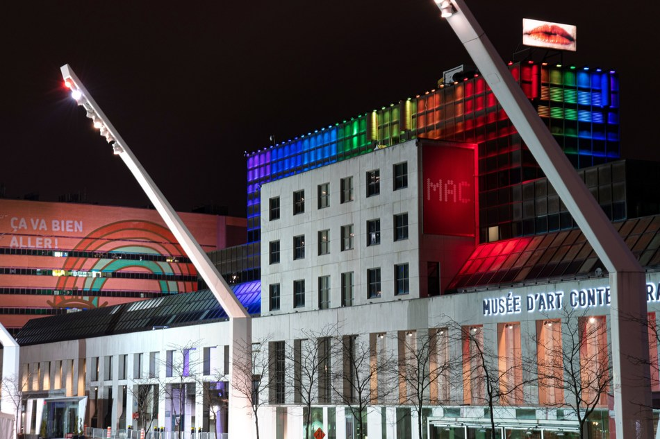 Partenariat du Quartier des spectacles (Groupe CNW/Musée d'art contemporain de Montréal)