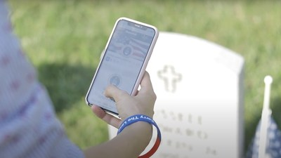 The Veterans Legacy Memorial platform is a digital tribute to remember the legacies of veterans and service members interred at a VA national cemetery. GovernmentCIO Media & Research photo