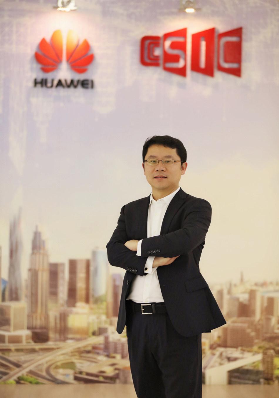 O novo CEO da Huawei Brasil, Sun Baocheng