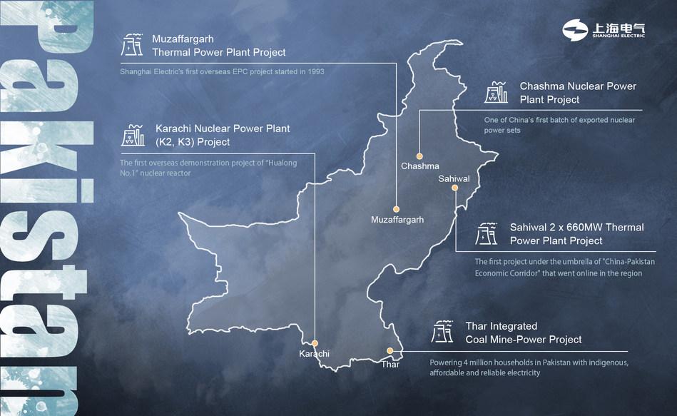 Shanghai Electric celebra 27 años de compromiso en Pakistán (PRNewsfoto/Shanghai Electric)