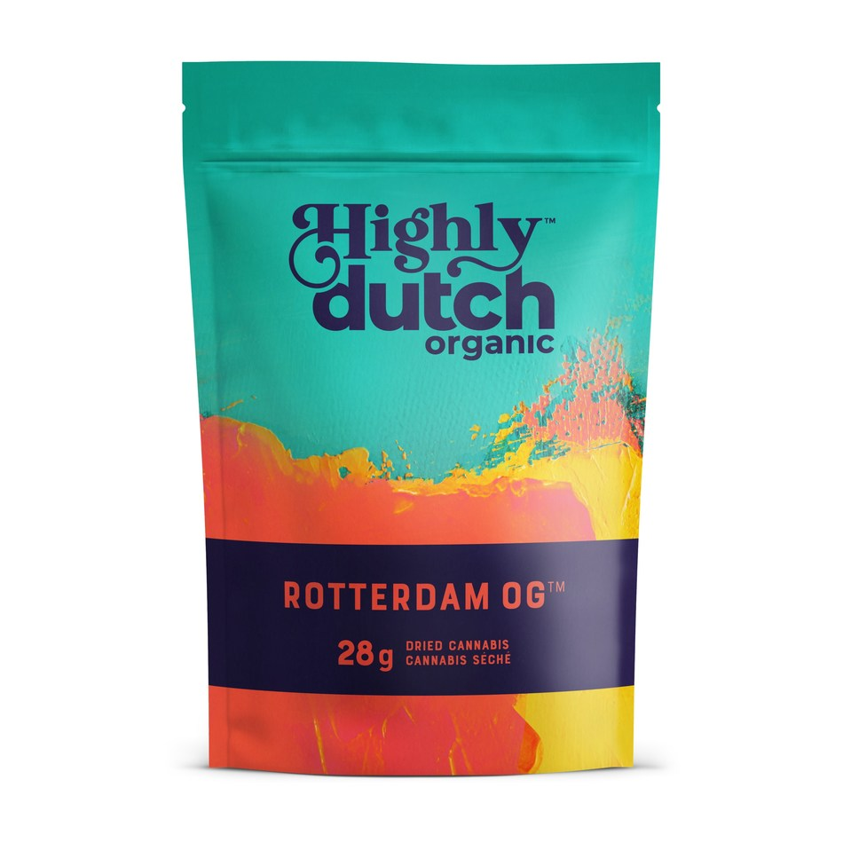 Highly Dutch Rotterdam OG - 28g (CNW Group/The Green Organic Dutchman Holdings Ltd.)