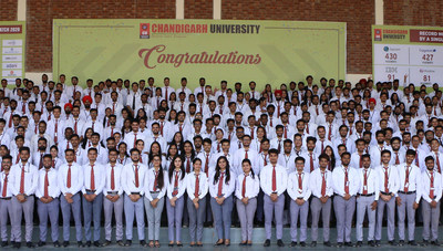 Chandigarh University students placed in Multinationals
